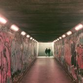 Tunnel of love, taken with a Canon Ae-1 Program on lomochrome purple film   phot…  – belfast