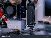 Print Head 3d Printer Machine Printing Stock Photo (Edit Now) 1550111222
