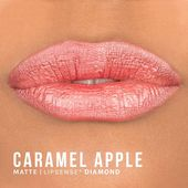 Caramel apple diamond   *should be topped with LipSense gloss