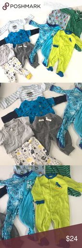 3-6 Monate Baby Boy Sci Fi Kleidung Bundle 9 Stück Größe 3-6 Monate Baby Boy …   – My Posh Closet