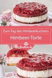 Himbeerkuchen   – Torte gut, alles gut! #Tortenrezepte