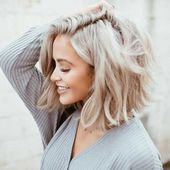 25+ best short to medium hairstyles for fine hair – new ideas