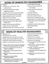 Healthy Boundaries Worksheet - Bing Images | Behavior | Pinterest ...