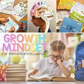 """Growth Mindset Activities for Elementary Students: Stop Hearing """"I Can't!"""""""