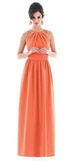 1000  Ideen zu Tangerine Bridesmaid Dresses auf Pinterest  Orange ...
