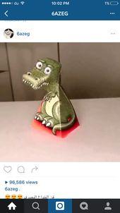 افكار عريبه رسمات ثري دي ثلاثية الابعاد تتحرك مع تحرك الانسان وابحث عن مجسمات او قصات ورق مشابهه Dinosaur Stuffed Animal Animals Dinosaur