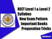 REET Level 1 & Level 2 Syllabus 2020 New – Important Books, Tricks