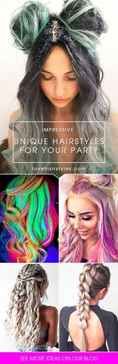 27 chic hairstyle ideas for a party LoveHairStyles.com – #frisur #ideen #lovehairstyles #party –