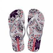 Ladies, Summer, Flowers, Beach, Flip-Flop, Ladies, Mens, With Socks, Ornate, Cute …, …