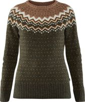 Fjallraven Women's Ovik Knit Sweater Deep Forest M