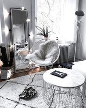¿Quieres una decoración suave y acogedora para este invierno? Descubre 50 interiores …