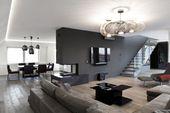 Die freitragende Treppe zum Obergeschoss wurde nach … – Architecture Designs   – Wohnideen