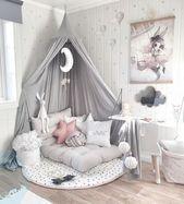 Liebe das !!! Für ein kleines Mädchenzimmer – #girls #little #love #room, – Kinderzimmer Mädchen