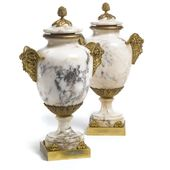 date unspecified A pair of Louis XVI style gilt br…
