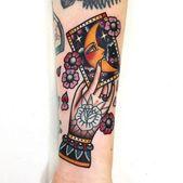 48+ Trendy Tattoo Traditional Leg Hands