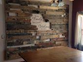 20 Most Unique Holzpalette Wanddekoration für Wohnzimmer