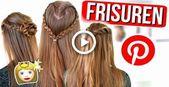 EASY PINTEREST HAIRSTYLES – einfache Frisuren, ganz leicht nachzumachen | Julia Beautx