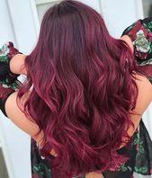 43 Burgunder Haarfarbe Ideen und Stile für 2019 | Seite 3 von 4 | StayGlam   – Hair & Beauty