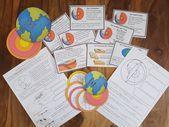 Der Aufbau der Erde (+ Plattentektonik) – Montessori Material – Unterrichtsmaterial in den Fächern Erdkunde & Sachunterricht