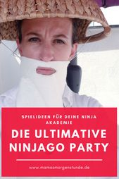 Die ultimative Ninjago Geburtstagsparty