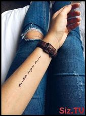 Tattoo Quotes Meaningful Love 29 Ideas – tattoo, jewerly, other accessories – #a… – Mackenzie Doyle