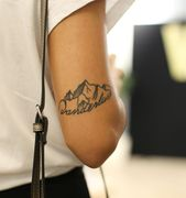 mountain tattoo wanderlust – Fernweh Tattoos