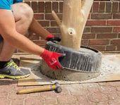 Entfernen Sie nach dem Trocknen die Form. Wenn sich die Form nicht löst …   – Holz