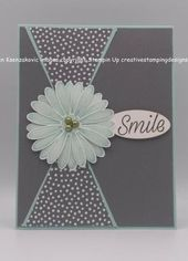Baby Cards Stampin' Up! Country Floral Birthday Card