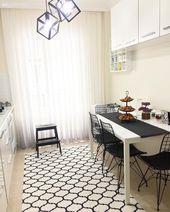 Bu Dubleks Evde Estetik Kadar Kullanışlılık da Ön Planda.   Ev Gezmesi