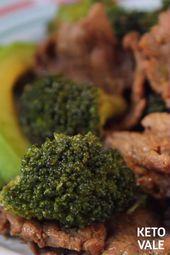 Keto Beef y Brócoli Salteado