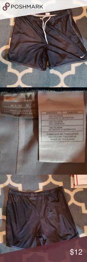Nike marineblaue Mesh-Shorts Marineblau mit weißer Borte und Tunnelzug, Mesh-Shorts …   – My Posh Picks