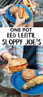 Sloppy Joes de lentilles rouges   – Cooking | Vegan & Vegetarian