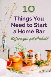 Die zehn wichtigsten Elemente für eine Hausbar (ohne Alkohol!) #Simplemixeddrin …
