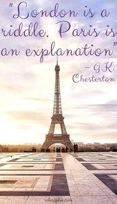 Paris ist immer eine gute Idee: 10 Zitate über Paris – Quotes