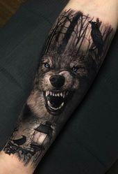 50 der schönsten Wolf Tattoo Designs, die das Internet je gesehen hat