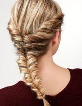 Step-by-step: herringbone braid with twist