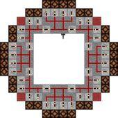 Minecraft Lighthouse Circuit Needs 3 Rows Of Redstone Lamp For Repeater To Minecraft Lighthouse Minecraft Redstone Minecraft Construction