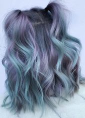 31 Ideas for perfect hair color and hairstyle design – purple, # hair color # ideas # hairstyle design …  – Looks I wanna try