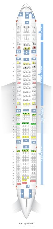 Airline Seat Maps Help You Find The Best Seats Or Avoid The Worst