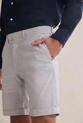Weft Stripe Short