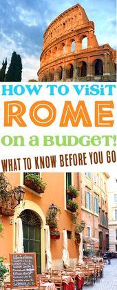 40 Top Rom Italien Reisetipps! {Was Sie wissen müssen, bevor Sie gehen}