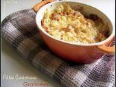 Carbonara Pasta Gratin – PÂTES – #Carbonara # gratinées #les # Pâtes   – Pates Recette