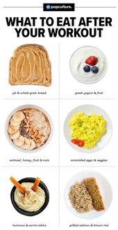 Die 7 besten Dinge, die man nach dem Training essen sollte