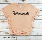 Disneyholic - Unisex Shirt, Disney Shirt, Disney Vacation, Disney Run, Disney Marathon, Disneyland