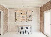 Mur de cuisine peu coûteux Idées de décoration de luxe Comment décorer les murs 9 Ideas t …