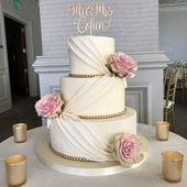 ✔ 30 Hochzeitstorten, so elegant, dass wir nicht wegsehen können 00048   – Bryllupskaker