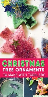 Christmas tree decorations made of salt dough to do with toddlers – simple and beautiful!