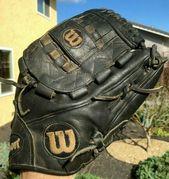Ebay Sponsored 400 Wilson A2000 Pro Stock Aso 11 5 Infield Pitcher Baseball Glove Mitt A2k Baseball Glove Gloves Lace Gloves