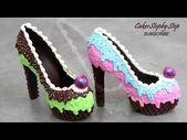 Photo of Amazing Chocolate Shoes Decorating  चॉकलेट जूते
