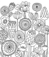 Instant Download – Digital Collage Sheet – Traditional Folk Art – Embroidery – 1 x 1 inch ( 25 mm) circles – JPG&PNG images – Malen